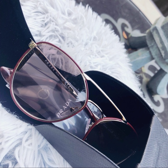 e6a94d67d9 Prada 55mm Oversized Sunglasses
